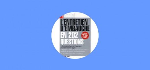 Couverture L'entretien d'embauche en 202 questions
