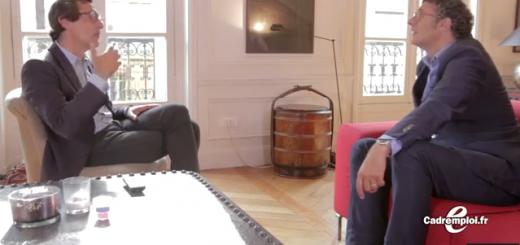 David Abiker parle entretien d'embauche avec Serge Papin pour Cadremploi