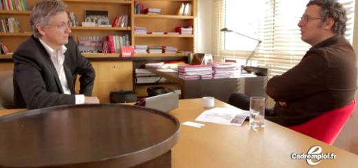 David Abiker parle entretien d'embauche avec Nicolas Bordas