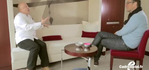 David Abiker parle entretien d'embauche avec Thierry Marx